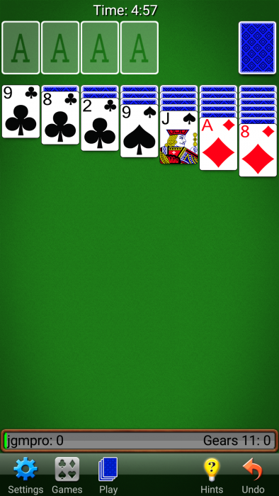Solitaire   Get a more polished version