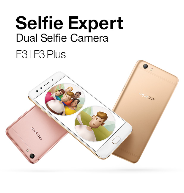 OPPO F3 to feature dual front camera setup