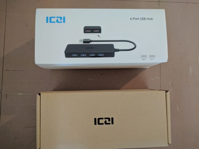 ICZI 6 Port USB Hub   Review