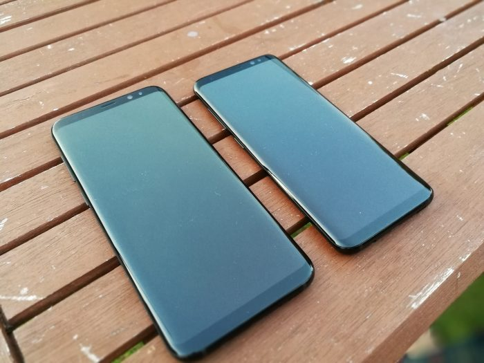 Face off   The Samsung Galaxy S8 vs Samsung Galaxy S8+