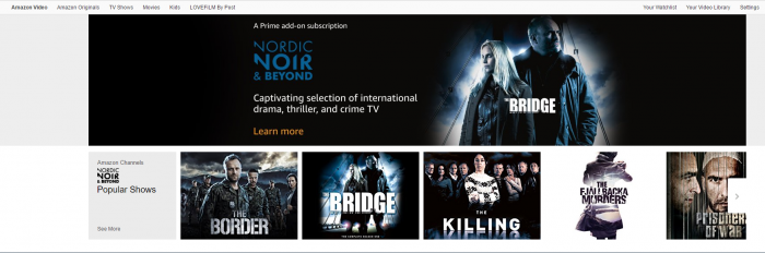 Amazon TV Channels service launches in the UK