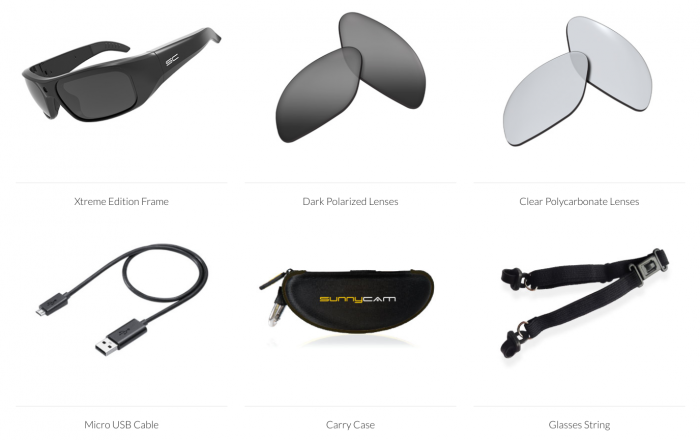 Sunnycam Xtreme 1080p HD Video Glasses   Review