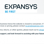 Expansys close up shop… for regular customers