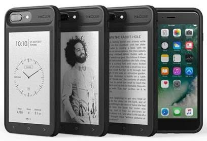 Oaxis launches InkCase, an E ink display case for iPhone 7