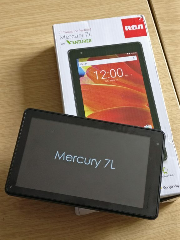 RCA/Venturer Mercury 7L tablet   review