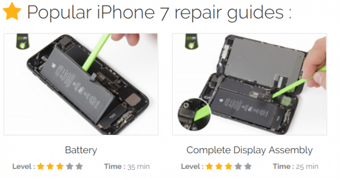 Broken phone? How about fixing it yourself then?