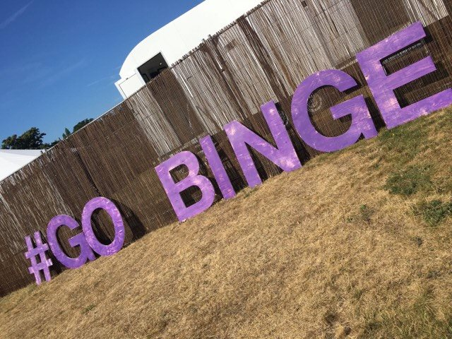 Three tells you to Go Binge