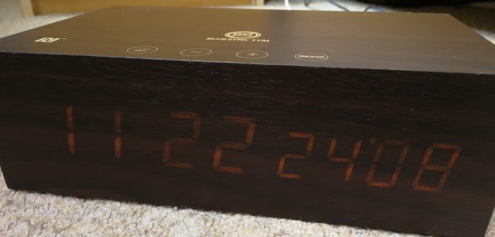 GOgroove BlueSYNC TYM Bluetooth Alarm Clock and Speaker   Review