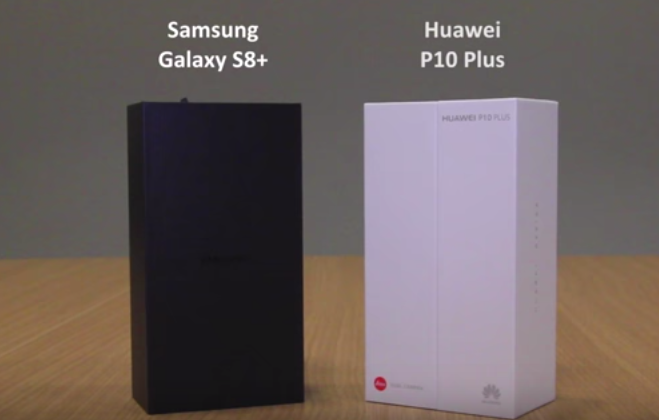Face Off   Samsung Galaxy S8+ and Huawei P10 Plus