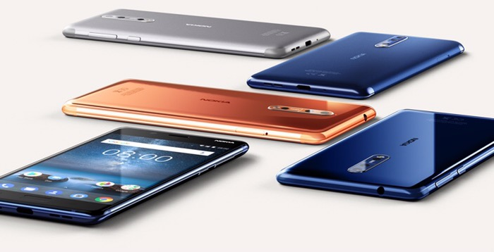 Nokia 8 official!