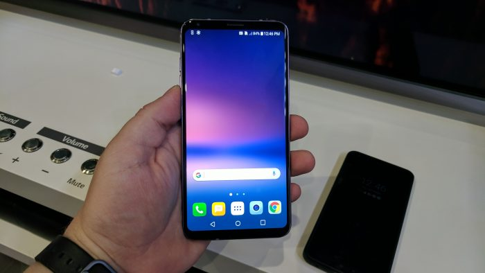 IFA   The LG V30, hands on