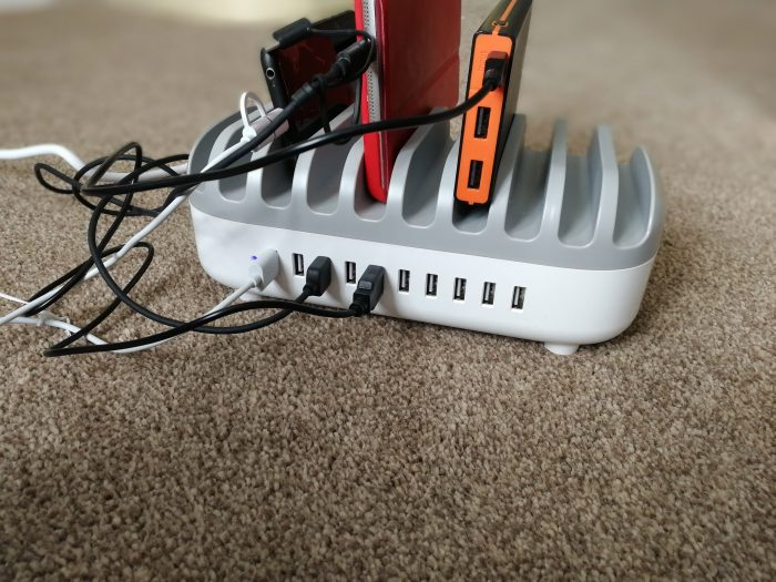 NTONPOWER Charging station and organiser   Review