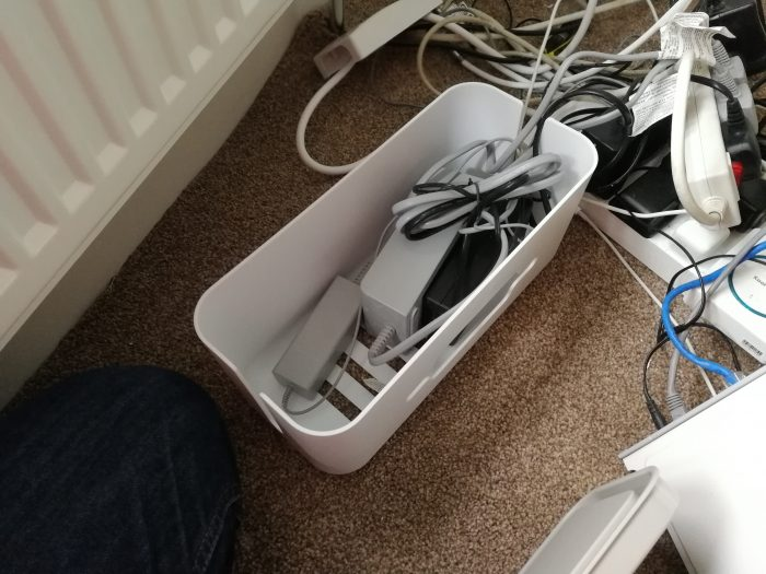 QICENT Cable Management Container   Review