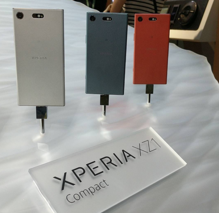 Sony Xperia XZ1 Compact now available on Vodafone