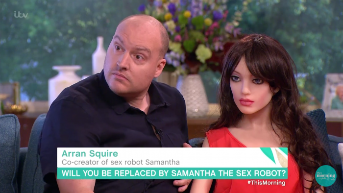 Say hello to Samantha, the AI robot that you can make love to.