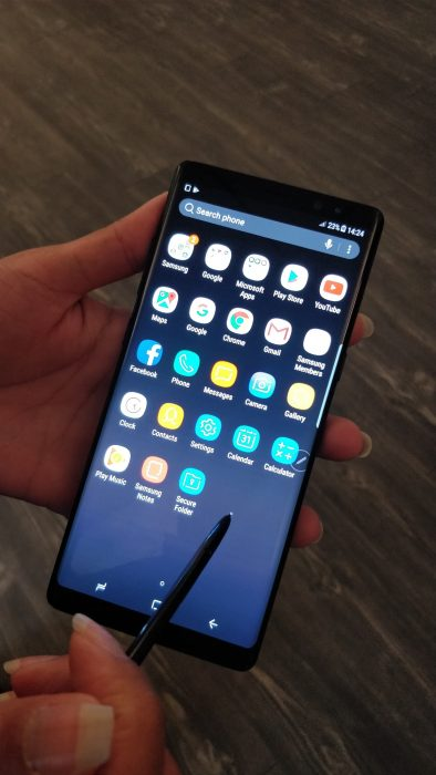 Samsung Galaxy Note8   Hands on