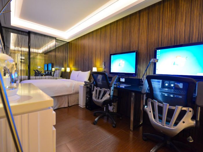 Fancy a hotel room with gaming PCs inside?