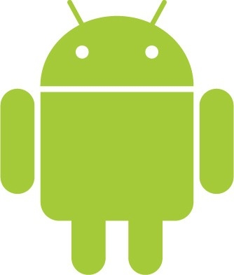 Big green Android logo