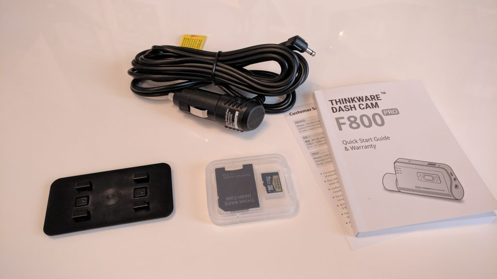 Thinkware F800 Dash Cam   Review