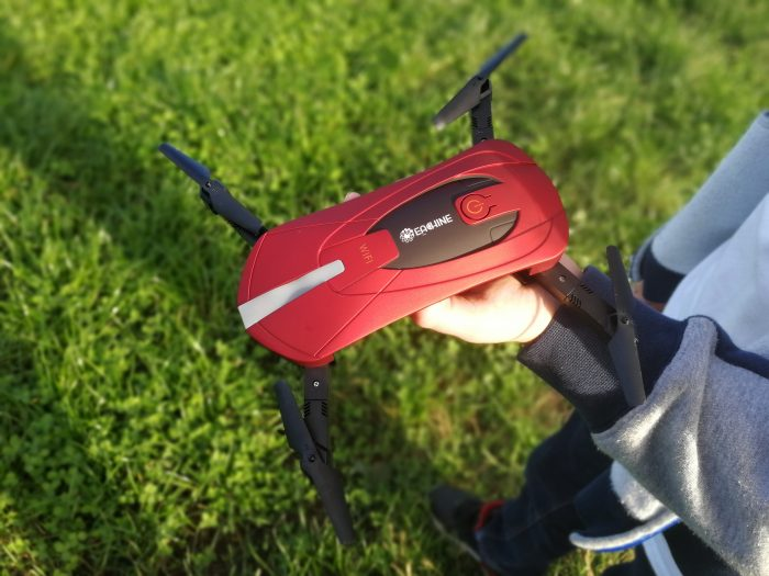 Eachine E52 WiFi Foldable Quadcopter   Review