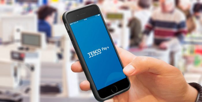 Tesco launches Tesco Pay+