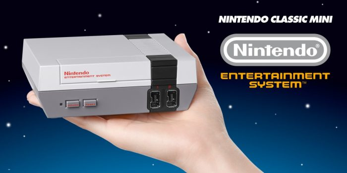 Get yourself something that looks a bit like a Nintendo Classic Mini