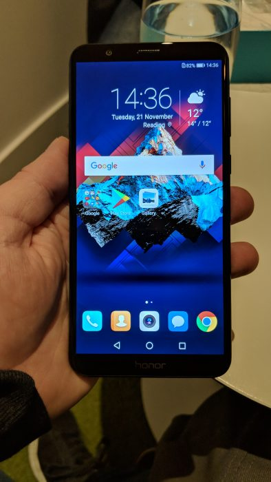 Hands on with the Honor 7X