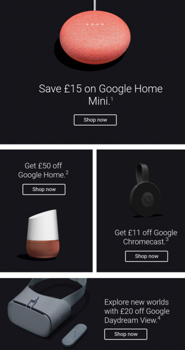 The Google Store Black Friday deals