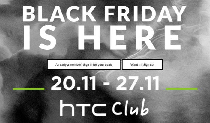 HTC Black Friday deals