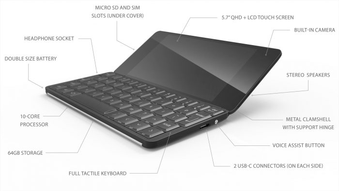 CES 2018: Planet Computers makes the Gemini PDA official!