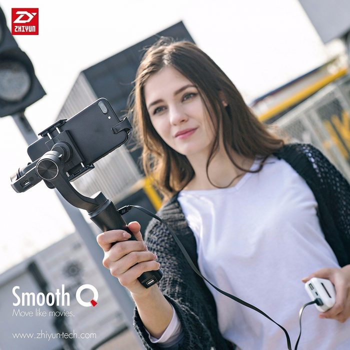 You! Buy a gimbal for your smartphone!