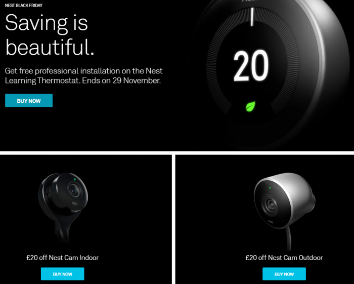Nest Black Friday Deals