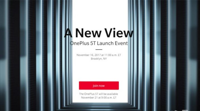 oneplus5t big launch