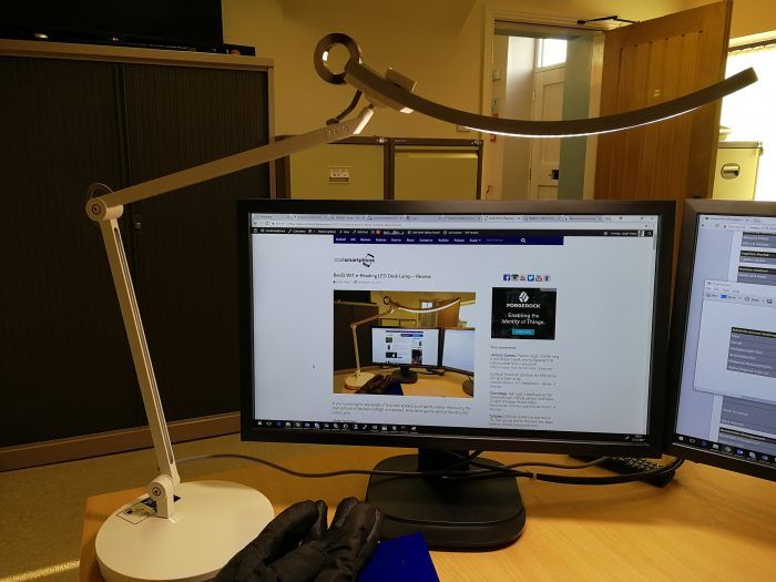 BenQ WIT e Reading LED Desk Lamp   Review