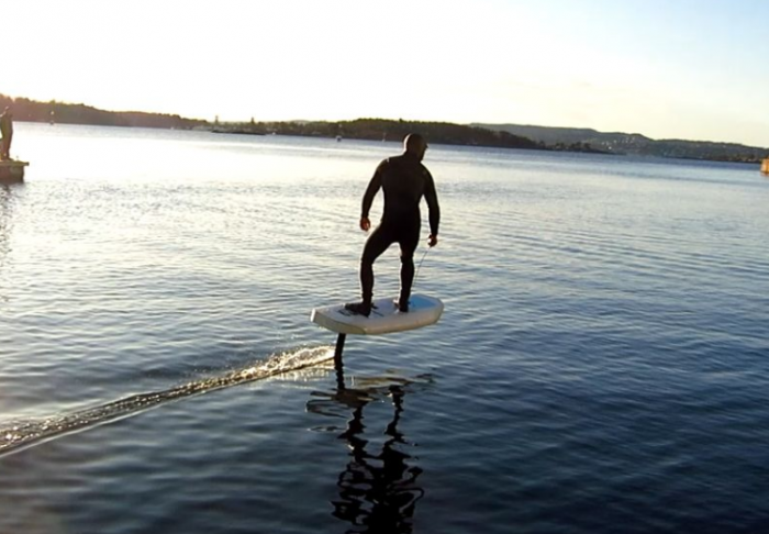 Watch   Hydrofoil surf board is basically brilliant in every way