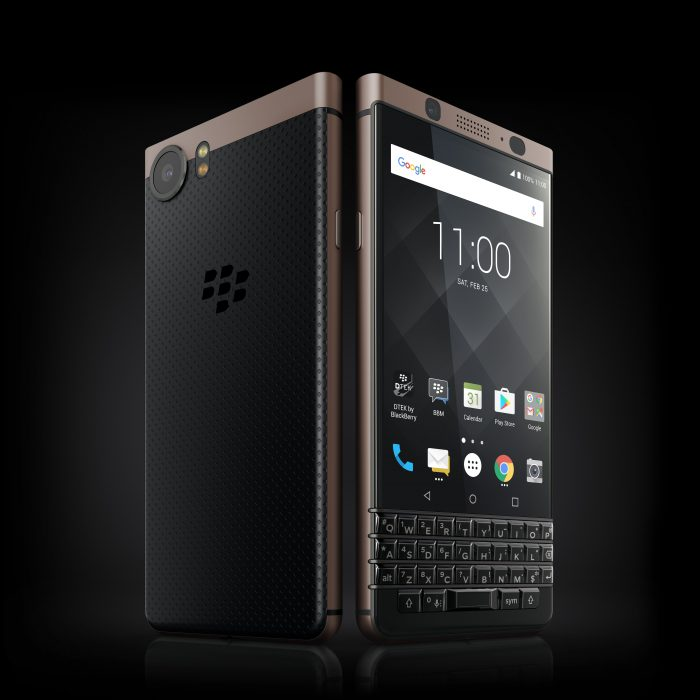 Bronze BlackBerry KeyONE coming to UK