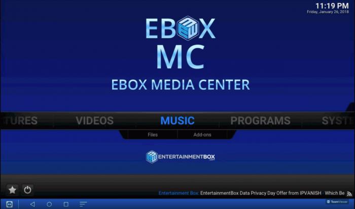 EBox T8 V TV box   Review