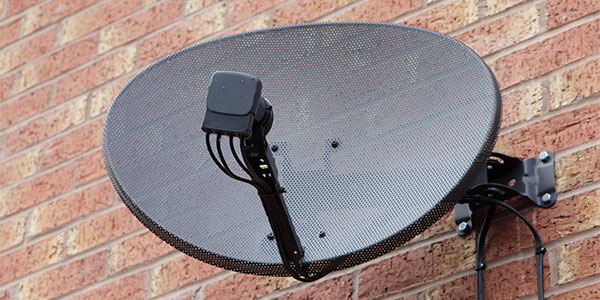 Sky TV. The end of the dish is coming..