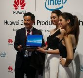 #MWC2018 Huawei also unveil the MateBook X Pro