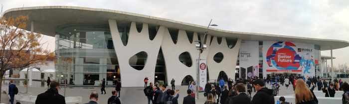 #MWC18   The Coolsmartphone Mobile World Congress HQ