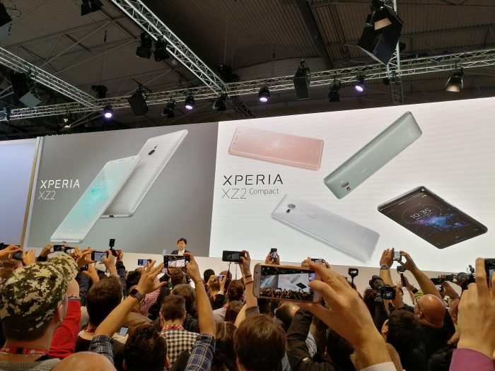 #MWC18   The Sony XZ2   Confirmed on #EE