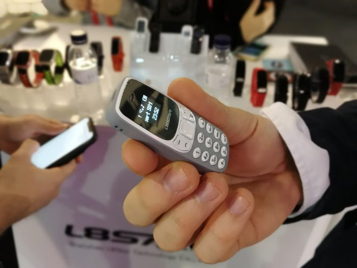 #MWC18   Want a tiny phone that you can stick in your ear?