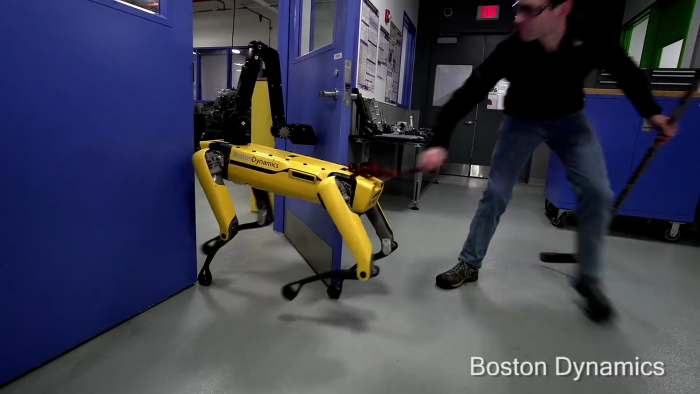 Boston Dynamics notch up the freakiness