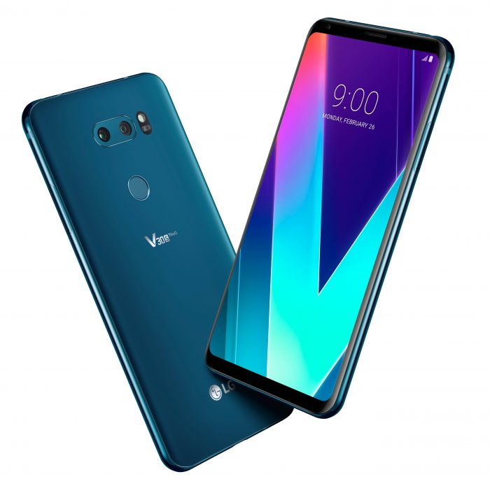 #MWC18   Is it the LG G7? No, but we do get an LG V30S