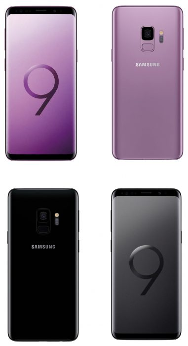 #MWC18   Samsung Galaxy S9. Official images leak from the Samsung Unpacked app