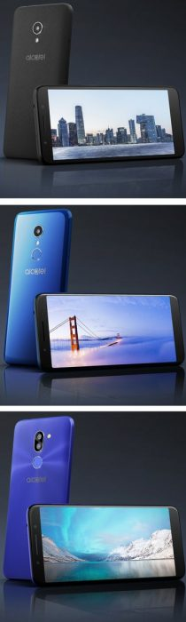 #MWC18   Alcatel 1x, 3, and 3x revealed