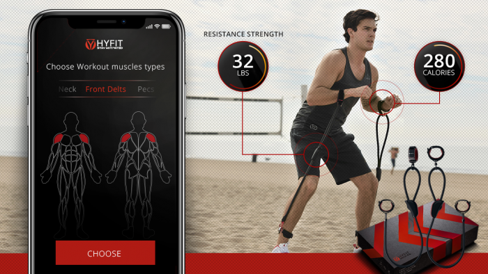 Introducing Hyfits Wearable Gym