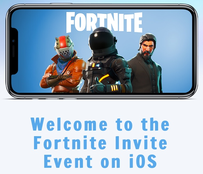 Fortnite is Released on iOS   Check those emails now!!