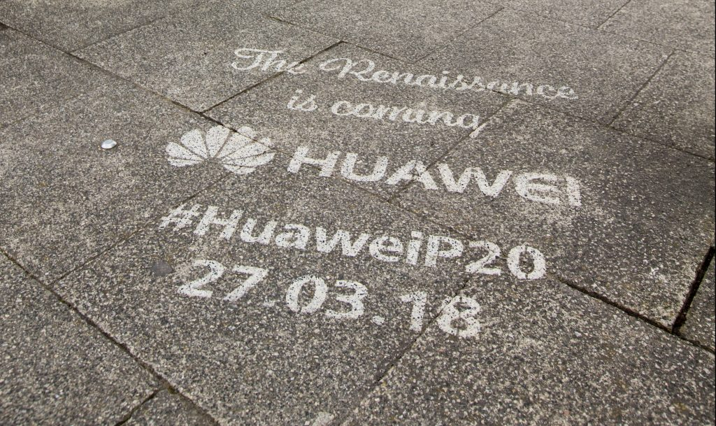 Huawei P20 Launch. Watch the live stream!