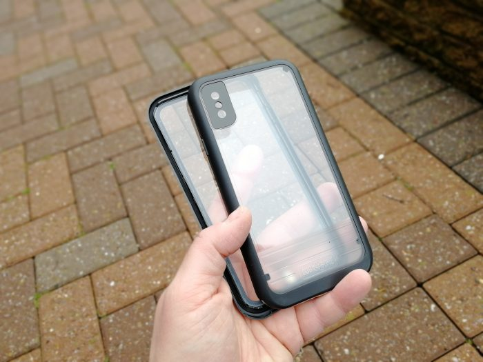 Dog & Bone   Waterproof and drop proof iPhone X case. Win!